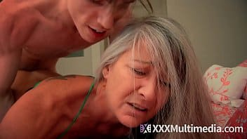 Drunk son forces mom to fuck