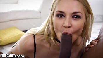 THROATED MILF Sarah Vandella Vs. BBC!